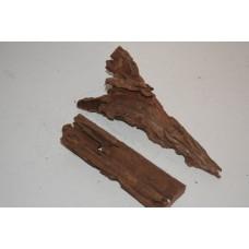Real Aquarium Bog Wood 2 Small Pieces SBW2K