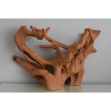 Aquarium Large Flatbacked Driftwood Root 32 x 14 x 19 cms