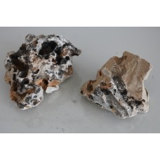 Natural Meteor Style Rock 2 Pieces 5
