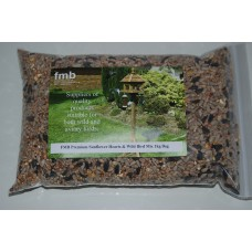 FMB Premium Sunflower Hearts & Wild Bird Seed Mix Approx 5 Kilo Bag