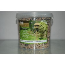 FMB Premium Sunflower Hearts & Wild Bird Seed Mix Approx 7000g Tub