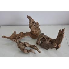 Real Aquarium Curio Bog Wood 3 Medium Sized Pieces CWB4