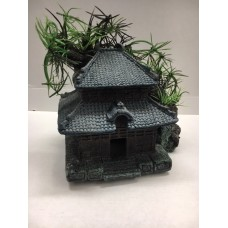 Aquarium Detailed Traditional Chinese House 15 x 11 x 14 cms