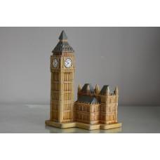 Aquarium Detailed London Big Ben & Parliament Building Decoration 10 x 10 x 10 cms