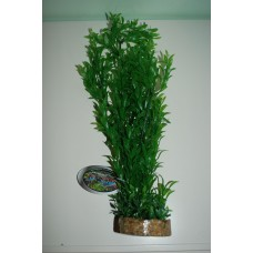 Large Aquarium Plant Complete With Sandstone Base And Airstone 8.3 x 42 cms