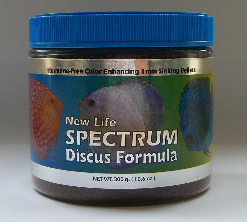 New life spectrum discus fish formula 1mm pellets for New life spectrum fish food